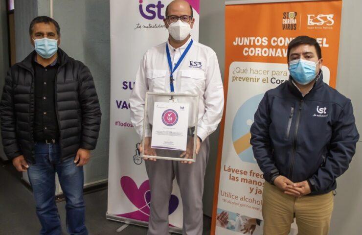 IST certifica con Sello Covid-19 a empresa Compass Catering de Codelco Salvador